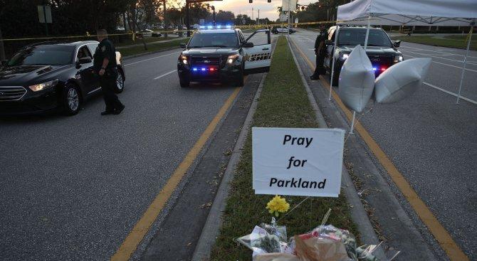 Имало е въоръжен помощник-шериф по време на нападението в гимназията във Флорида