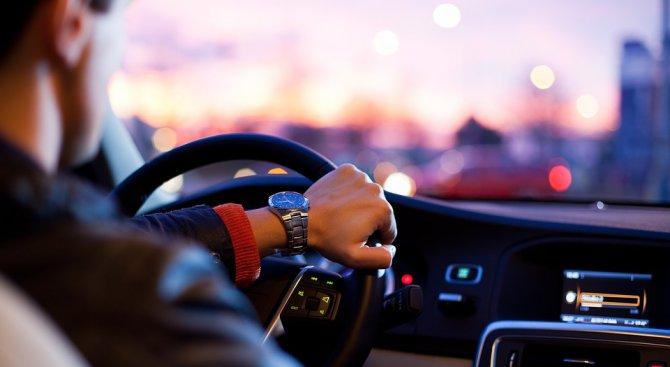 Шофьор заспа зад волана на светофар в Хасково