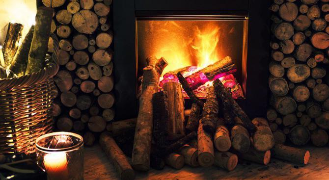 Уютният огън в камината е вреден за здравето