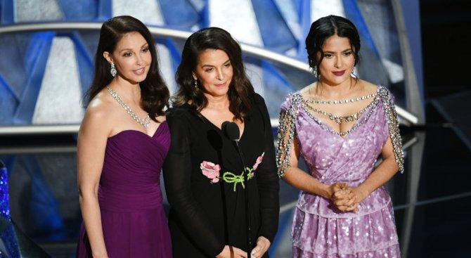 """Сексуалният тормоз беше акцент на """"Оскар""""-ите (видео)"""