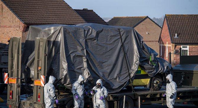 Британската полиция се опитва да възстанови маршрута на автомобила на Скрипал