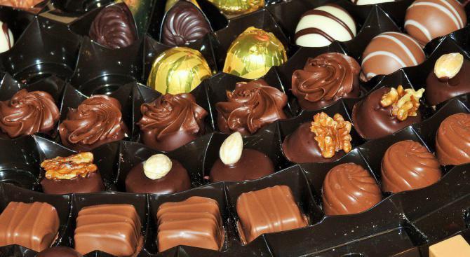 Показаха най-скъпия шоколадов бонбон в света
