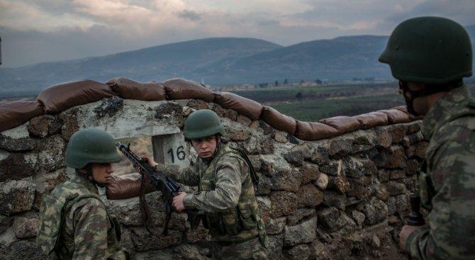 Турската армия е превзела стратегически район в Африн
