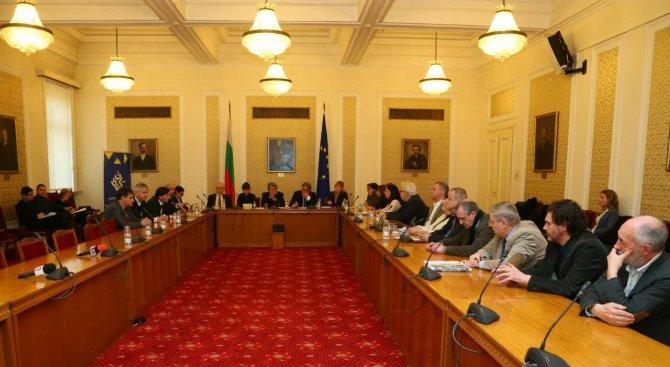 Вежди Рашидов проведе среща с ръководствата на творческите съюзи в България