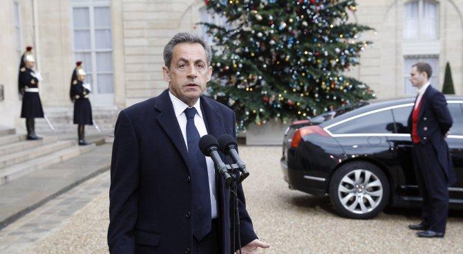 Закопчаха Никола Саркози заради либийската сделка (обновена)