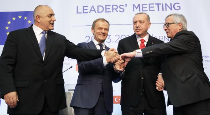 Френски медии: На срещата във Варна не беше постигнат конкретен напредък в диалога ЕС-Турция