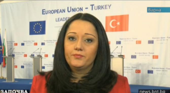 Лиляна Павлова: Надяваме се диалогът ЕС-Турция да бъде възобновен (видео)