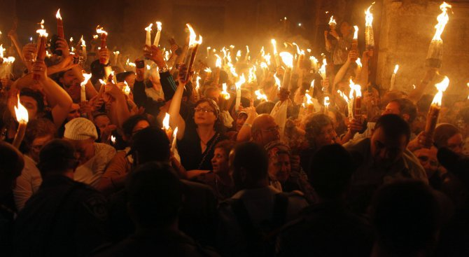 Благодатният огън от Йерусалим ще бъде донесен у нас