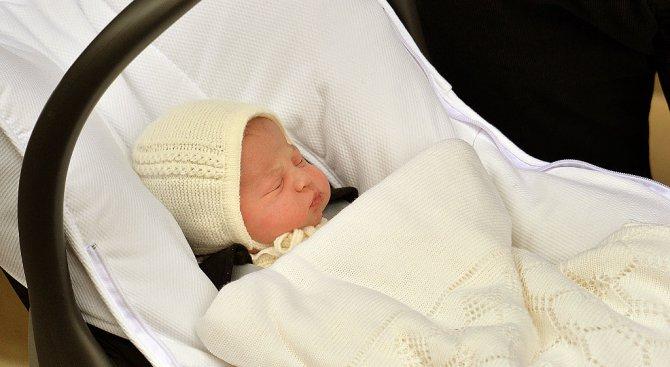Британците и светът честитят на Кейт Мидълтън и принц Уилям третото им дете