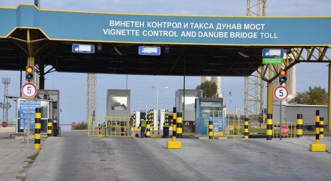 """Движението през """"Дунав мост Русе"""" ще се извършва в една лента"""