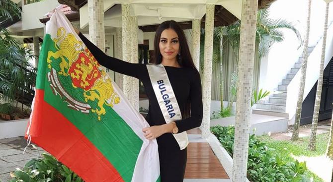 Прелестна българка представя страната ни в конкурс за красота в Индия