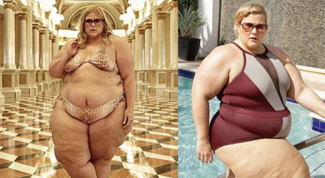 Забраниха на plus-size модел да се снима по бански в хотел, била прекалено дебела (снимки)