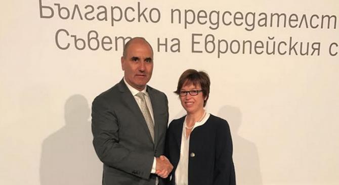 Цветанов разговаря с изпълнителния директор на Европол