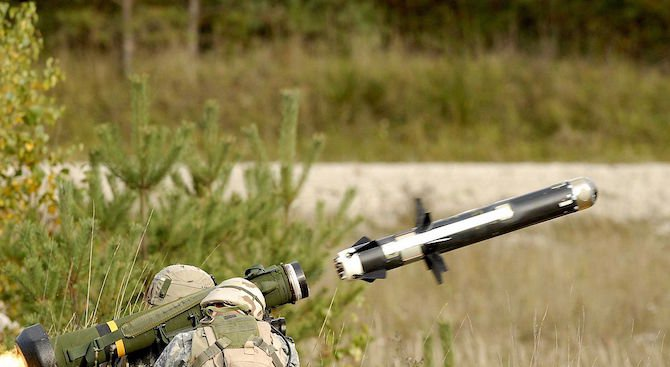САЩ доставиха противоракетни комплекси Javelin на Украйна