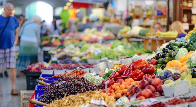 Спад в цените на плодовете и зеленчуците около Гергьовден