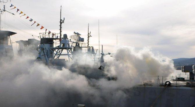 В Черно море започва най-голямото за тази година военноморско учение