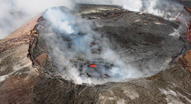 Поредица от земетресения на Хаваите след вулканичното изригване (видео)