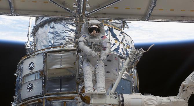 Астронавтът Ричард Линехан: Космосът ще промени нашата биология (видео)