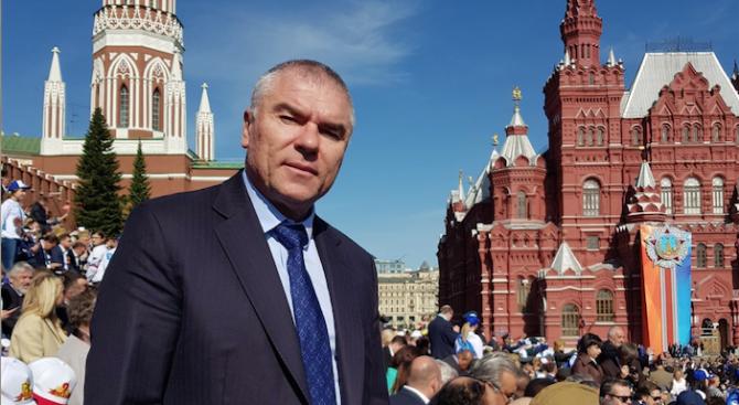 Марешки на Червения площад на 9 май (снимка)