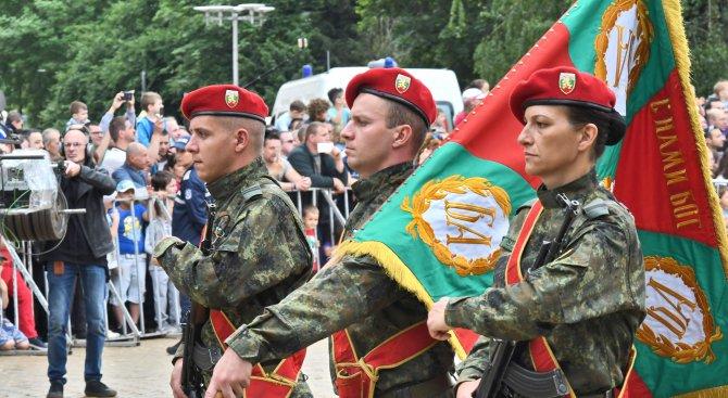 Наши военни участват във военен парад в Румъния
