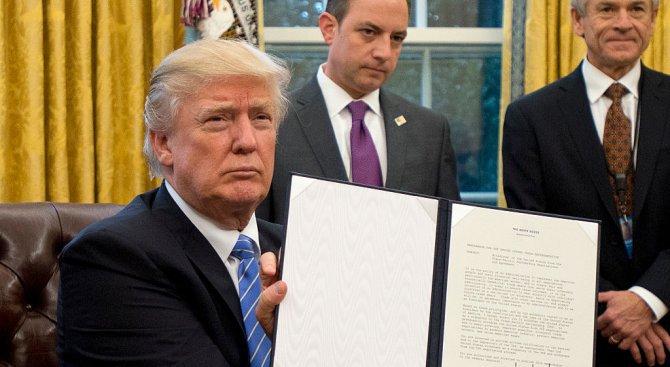 Тръмп подписа закон за обезщетяване на жертви на Холокоста, който Полша смята за дискриминационен