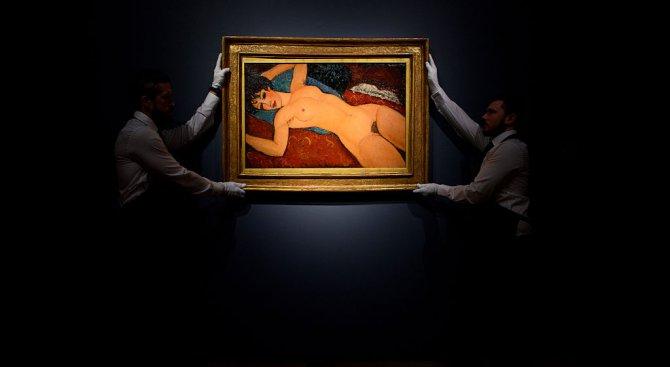 Картина на Модилиани бе продадена за над 157 милиона долара на търг в Ню Йорк