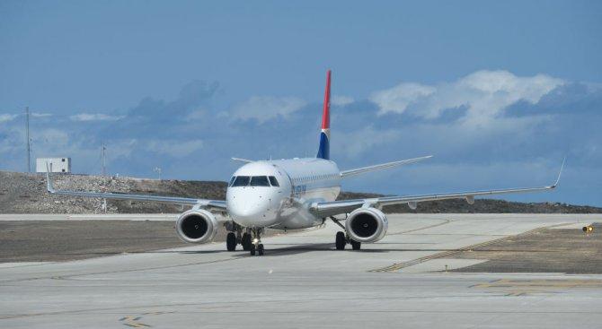 Стачка отмени 75% от полетите на Brussels Airlines