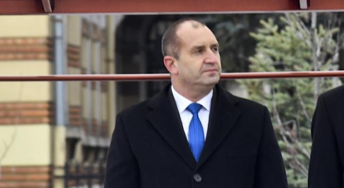 Румен Радев ще участва в честванията по случай 24 май