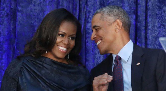 Барак и Мишел Обама сключиха споразумение с Netflix за производство на филми и сериали