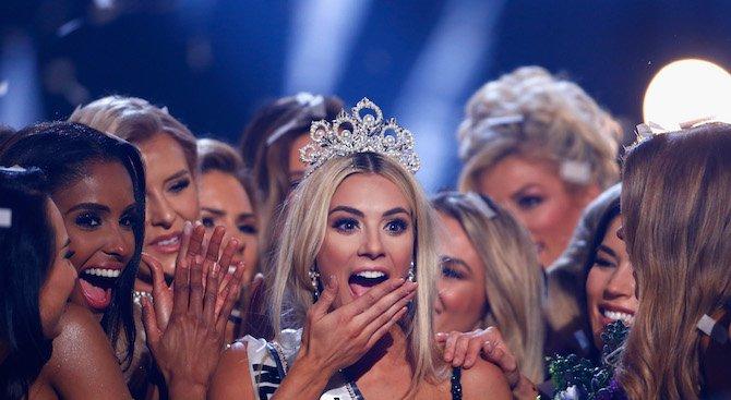 Избраха новата Мис САЩ (снимки+видео)