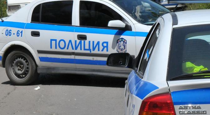 Пиян шофьор катастрофира в опит да избяга от полицията