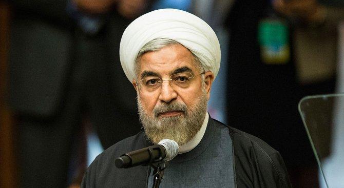 Рохани: САЩ не могат да взимат решения за Иран