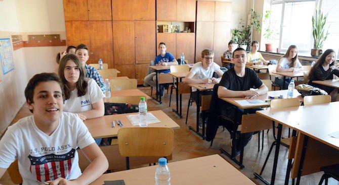 Учениците в 7-и и 12-и клас се явяват на външно оценяване и матура по БЕЛ