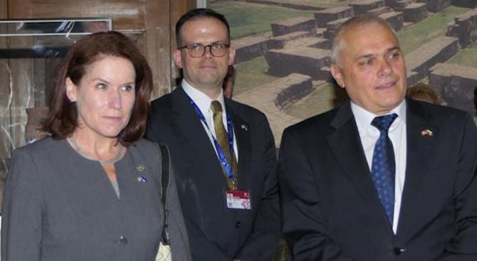 Висока оценка за сътрудничеството ни със САЩ в областта на вътрешните работи