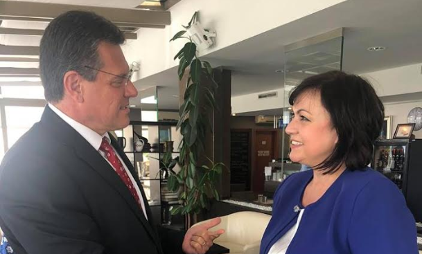 """Нинова: Проектът """"Белене"""" е важен за България и ЕС"""