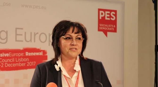 ПЕС продължава да натиска БСП за Истанбулската конвенция. Нинова категорична, че няма да клекне
