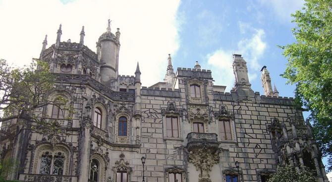 Кинта де Регалейра - готическа приказка, на 30 км. от Лисабон