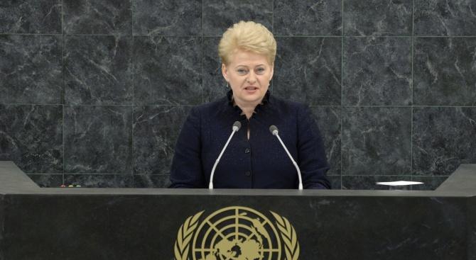 Руска депутатка към литовския президент: Включете си мозъка!