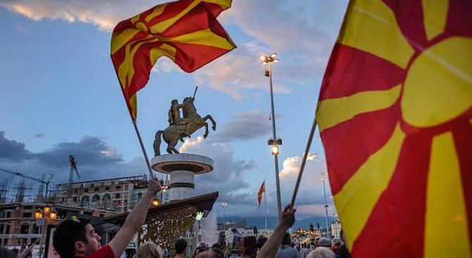 Германия винаги ще подкрепя Македония, заяви немският външен министър