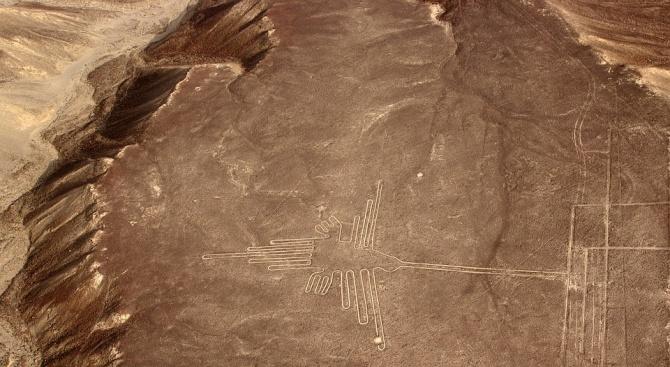 Археолози откриха още рисунки в Наска
