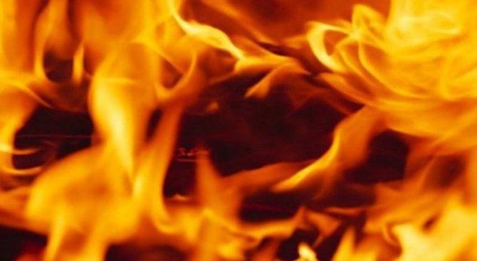 Пожар унищожи кола в Димитровград