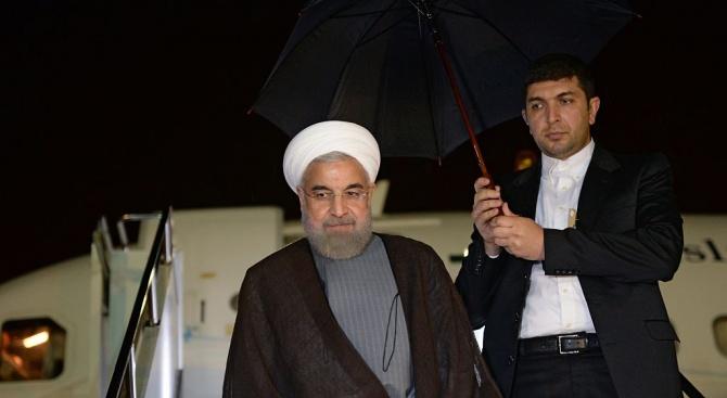 Иранският президент пристигна в Швейцария