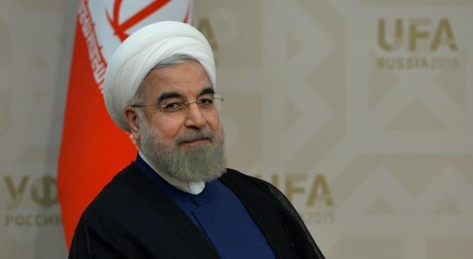 Иранският президент пристига на посещение в Австрия