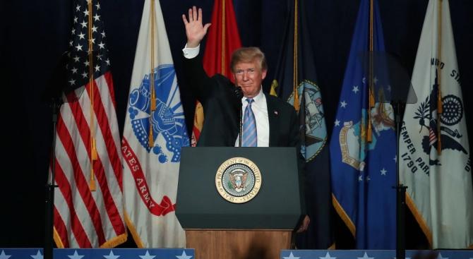 Тръмп държа реч по повод националния празник на САЩ
