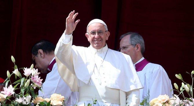 Папата: Климатичните промени превръщат Земята в пустиня и бунище
