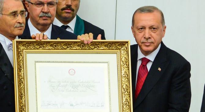 Ердоган: Започва нов етап в историята на Турция (обновена+снимки)