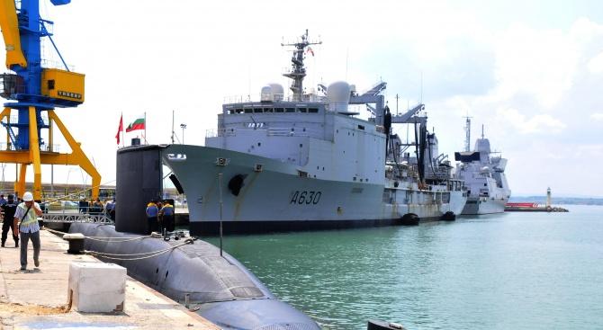 "Започва военноморското учение ""Бриз 2018"" (снимки)"