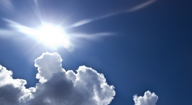 Времето утре - слънчево, следобед - валежи