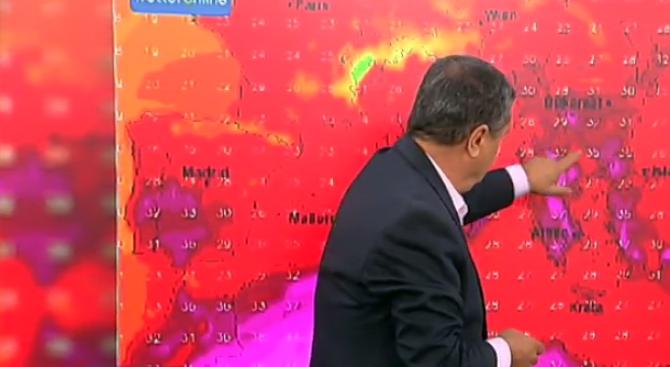 Проф. Рачев прогнозира: Шарено море в следващите дни, но модерен август
