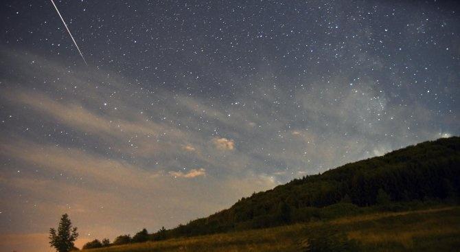 Предстои пикът на метеорния поток Южни Делта Аквариди